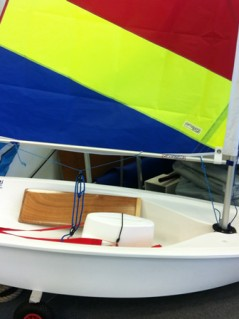 Little Tacker Learn to sail Opti